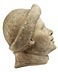 Detail images: Marmorkopf eines Jünglings mit Krempenkappe