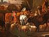 Detail images: Pieter van Bloemen, 1657 Antwerpen – 1720, zug.
