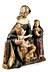 Details: Spätgotische Anna Selbdritt-Figurengruppe