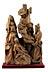 Details: Schnitzfigurengruppe Kreuzabnahme Christi