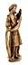 Detail images: Schnitzfigur eines alttestamentarischen Propheten