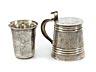 Details: Feiner Moskauer Silberhumpen und Becher