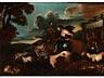 Details: Giovanni Benedeto Castiglione, 1609 – 1664, zug.