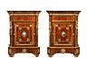 Details: Paar elegante Halbschränke