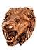 Details: Brunnenmaske in Form eines Löwenkopfes