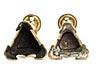 Details: Paar barocke Bronzeleuchter