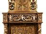 Details: Seltener venezianischer Sakristeischrank