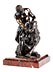 Details: Bronzefigurengruppe nach der Antike Herkules mit dem Nemeischen Löwen