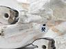 Details: Meissener Porzellanfigur eines Stiers