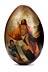 Details: Osterei mit Auferstehung