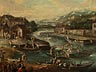 Detail images: Pieter Bout, 1658 – 1719, zug.