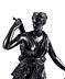 Detail images: Bronzestatue der Jagdgöttin Diana