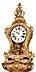 Detail images: Grosse Louis XV-Cartelluhr auf Konsole