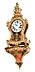Details: Grosse Louis XV-Cartelluhr auf Konsole