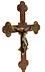 Details: Museales Stellkreuz des 14. Jahrhunderts