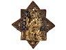Details: Museale frühgotische Reliefplakette