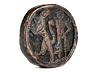 Details: Seltener Schwertknauf des 12. Jahrhunderts