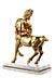 Details: Paar in Bronze gegossene Kentauren