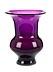 Details: Violettes Glasgefäß, wohl aus der Werkstatt Kunckel