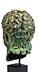 Details: Bronzekopf des Kaisers Nero
