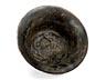 Details: Bronzebildwerk mit Medusenhaupt