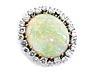Details: Opal-Diamantanhänger