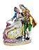 Details: Porzellanfigurengruppe