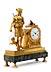 Details: Empire-Pendule Diana , Uhrmacher Charles Oudin
