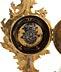 Details: Louis XV-Miniaturuhr