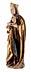 Detail images: Spätgotische Madonnenfigur mit Kind
