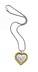 Details: Brillant-Herzanhänger mit Kette von Chimento