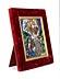 Details: Limoges-Plakette mit Auferstehung Christi