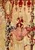 Detail images: Régence-Tapisserie der königlichen Manufaktur Beauvais