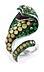 Details: Kobra Ring von Paolo Piovan