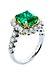 Details: Smaragd-Brillantring