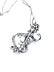 Details: Großer Diamantbroschanhänger