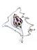 Detail images: Rubin-Saphir-Diamantbrosche von Fred