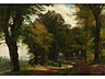 Details: Carl Ludwig Fahrbach, 1835 Heidelberg – 1902 Düsseldorf