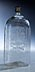 Details: Achtkantige Schraubflasche