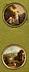 Detail images: Satz von vier Miniaturtondi