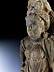 Detail images: Steinfigur einer Tyche der Gandhara-Kultur