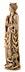 Details: Elfenbein-Schnitzfigur der Heiligen Katharina