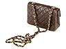 Detail images: Braune Chanel-Handtasche Timeless