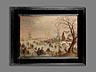 Detail images: Hendrick van Avercamp, 1585 Amsterdam – 1634 Kampen