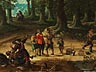Detail images: David Ryckaert III, 1612 Antwerpen – 1661, zug.