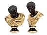 Details: Paar antikische Büsten