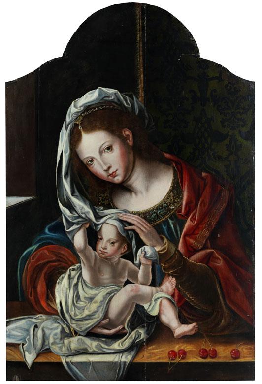 "Jan Gossaert, genannt ""Mabuse"", um 1478 Maubeuge – 1532 Mittelburg, zug."