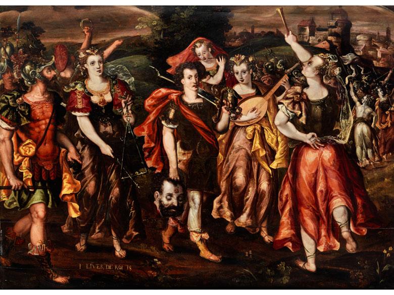 Marten de Vos, 1532 Antwerpen – 1603 ebenda, Kreis des