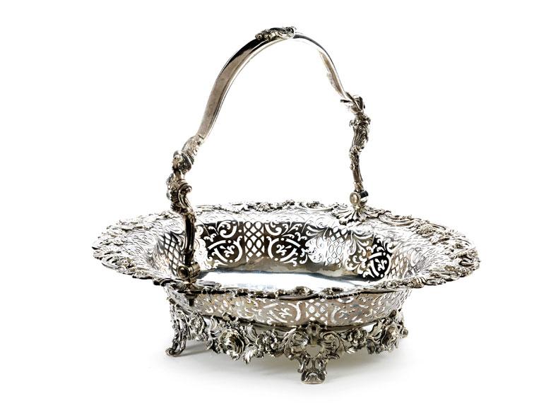 Londoner George III Bread Basket