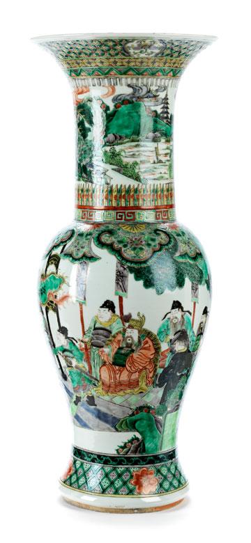 Famille Verte-Vase